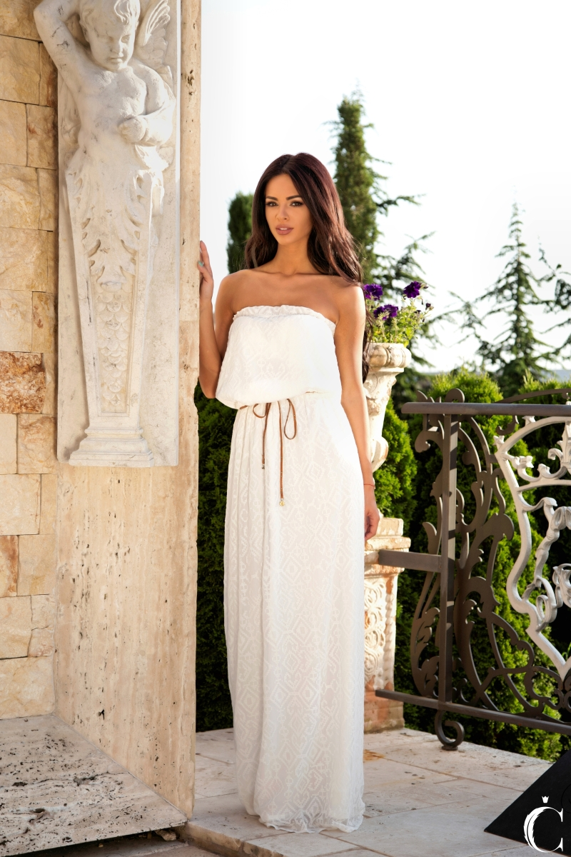 "Dress ""WHITE SILK"""