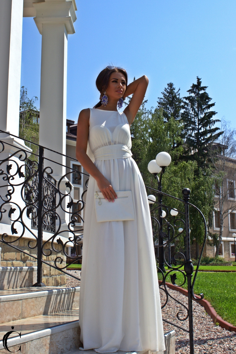 "Dress ""WHITE PEARL"""