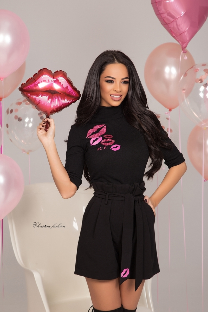 "Blouse ""PINK KISS"""